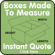 cardboard boxes made to measure